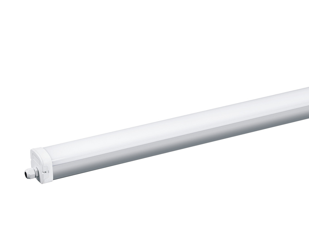 Alum Extrusion 4ft Ip65 LED Batten Light 48w Shock Resistant Energy Saving