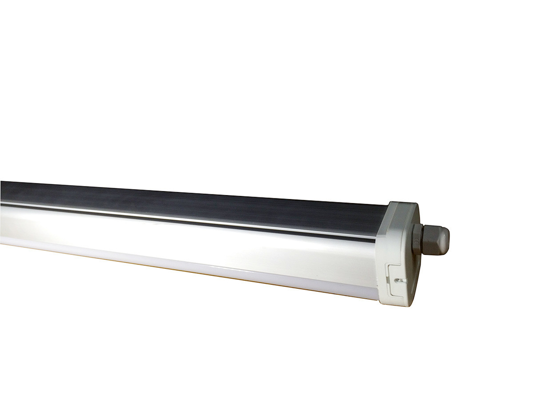Waterproof IP65 600mm Led Batten Light , High Lumens Led Linear Batten 18w